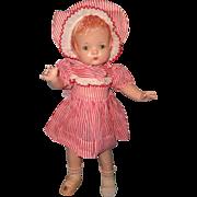 "Effanbee Factory Original Patsy Joan 16"" Composition Doll"