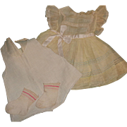 Authentic Ideal Betsy Wetsy Dress Set for Large Doll ~Gift giving condition