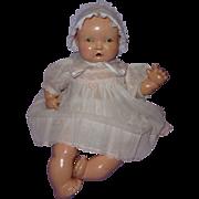 Adorable Effanbee Lambkins Composition Baby Doll