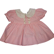 Sweet Pink Dress for Dy-Dee Baby or Tiny Tears Baby Doll