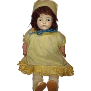 Early Effanbee Factory Original Composition Mama Doll ~ Shabby Chic