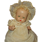 """Sweet Horsman Buttercup Composition Baby Doll ~ 17"""" Straight Leg Version"""