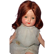 Beautiful Factory Original Tagged Madame Hendren Composition Mama Doll