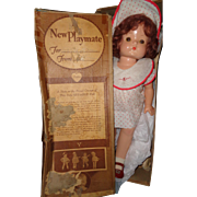 Effanbee Tagged Patsy Ann w/ Box Composition Doll ~ Gift Giving Condition