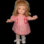 "Beautiful Effanbee Wigged Patsy Joan 16"" Composition Doll"