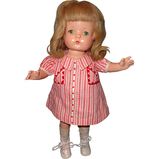 "Beautiful Effanbee Wigged Patsy Joan 16"" Composition Doll"
