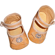 Nice Oil Cloth Shoes for your Larger Composition or Bisque Doll