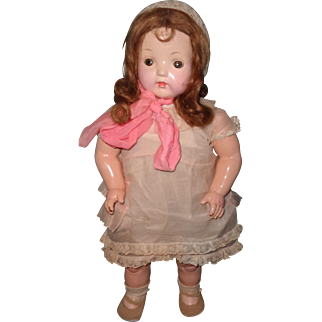 Nice Early Effanbee Composition Mama Doll ~ Sweet
