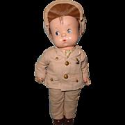Factory Original Effanbee Skippy Military Composition Boy Doll ~ Patsy' Boyfriend