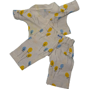 """Effanbee Dy-Dee or Tiny Tears Nitey Nite Pajamas for 11"""" Baby Doll ~ Mint"""