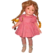 Factory Orighinal Effanbee Patricia Composition Doll ~ Gift Giving Condition