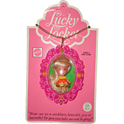 Mattel Little Kiddle Laverne Locket Doll Mint On Card ~ Gift Giving Cond.