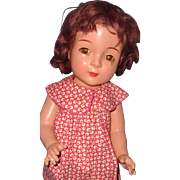 "Jane Withers 19"" Composition Doll by Madame Alexander"