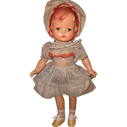 "Effanbee 17"" Patsy Joan Composition Doll (2nd Version)"
