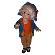 Effanbee factory Orig Patsyette as George Washington Composition Doll