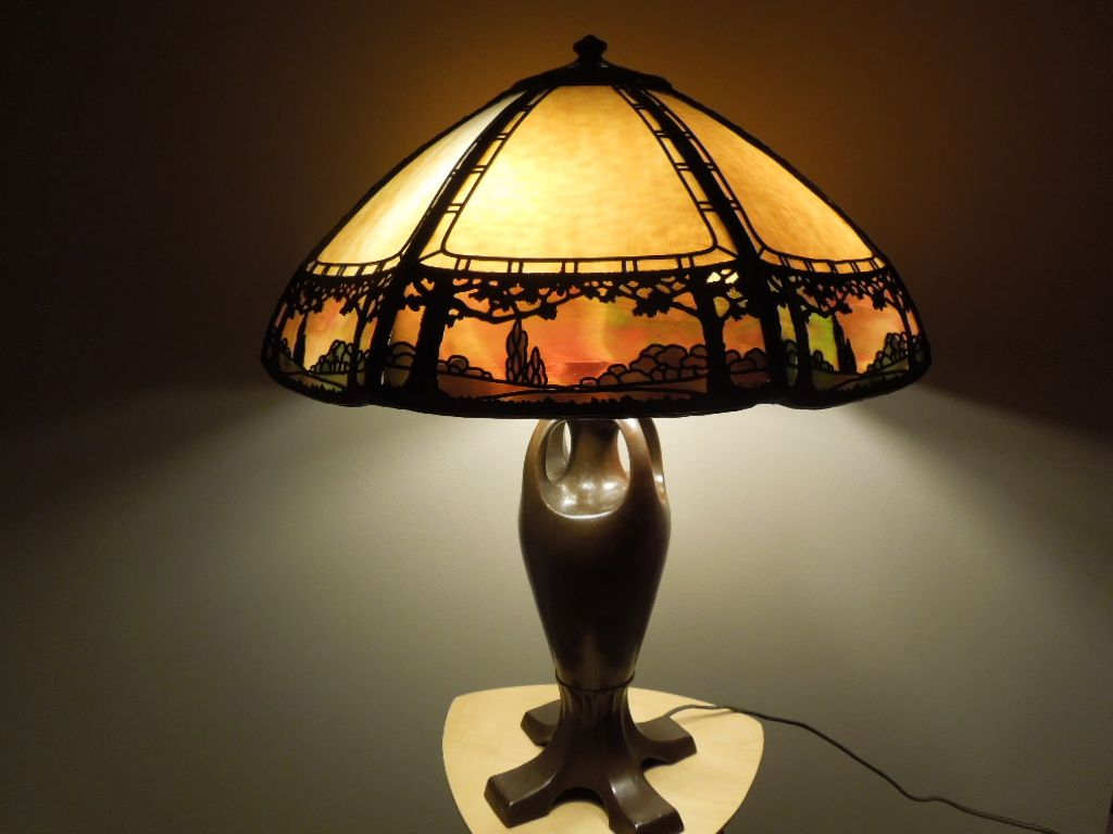 34 handel lamp stunning overlay antique vintage lamps ruby lane mozeypictures Choice Image