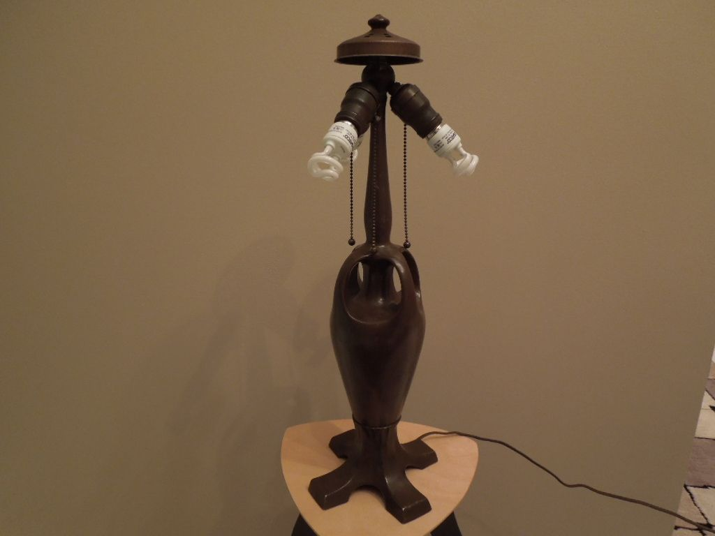 34 - Handel lamp. Stunning overlay from antiquevintagelamps on ...