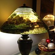 45- Handel scenic bridge lamp