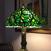 57- Riviere Studios leaded lamp