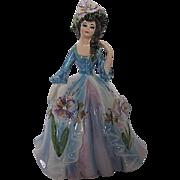 "Vintage Hand-painted Lefton ""Linda"" figurine designed by Marika - 1960's era - signed"