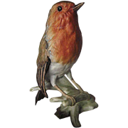 Goebel Rotkehlchen Porcelain Robin made in W.Germany - 1968 - signed