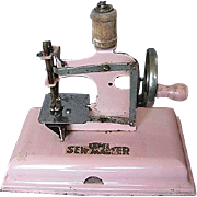 Vintage Kay-ee Sew Master Toy Sewing Machine - Made in Berlin, Germany - 40's-50's era