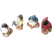 Sonoma Knollwood Retired Bird Salt & Pepper Shakers - Set of 4