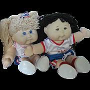 Mattel Cabbage Patch 1996 OlmpiKids Team Mascot Dolls - signed - USA