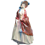 "Royal Doulton ""Paisley Shawl"" HN 1987 Porcelain figurine - Bone China Made in England"