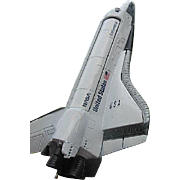 Space Shuttle Colombia Metal Model by Inco Alloys International