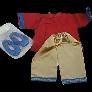 "The Shirley Temple Dress Up Doll clothing Set ""Stowaway"" by Danbury Mint - original box"