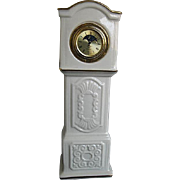 "Lennox Patriach ""Grandfather"" porcelan tabletop clock - made in U.S.A."