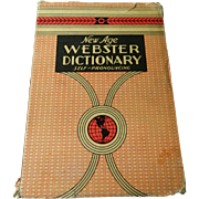 1937 Webster's dictionary