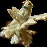 Lenox Secret garden Grasshopper figure