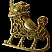 signed-Danecraft-Christmas pin