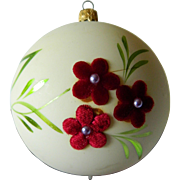 W.Germany Christmas tree bulb/ornament