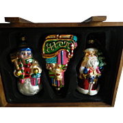 Thomas Pacconi classics-boxed Christmas ornaments- NOW ON SALE !!! - $ 50