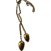 Vintage lariat necklace- NOW onh SALE!!!!- $59