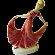 Dressing table lamp-Dancing girl-Vintage