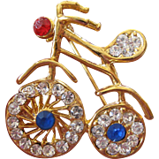 Sweet bicycle pin