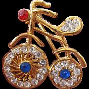 Sweet bicycle pin