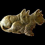 Scotty dogs pin