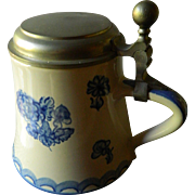 Ronsberg pottery beer tankard/mug