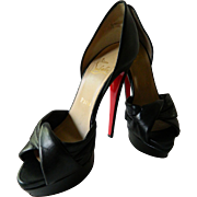 Christian Louboutin black stilettos- NOW on SALE !!!-$ 498