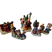 Christmas village figures