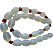 Italian made- natural stone necklace