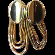 Festooned earrings