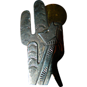 Mexican sterling- pin