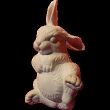 Boehm newborn sleeping rabbit figure