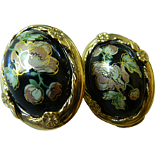 Lovely cloisonne earrings